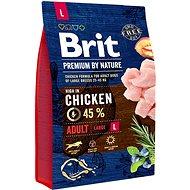 Brit Premium by Nature Adult L 3 kg - Granule pro psy