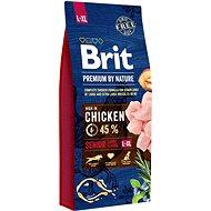 Brit Premium by Nature Senior L+XL 15 kg - Granule pro psy