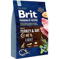 Granule pro psy Brit Premium by Nature Light 3 kg - Granule pro psy
