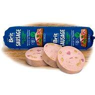 Salám pro psy Brit Sausage Turkey & Pea 800 g