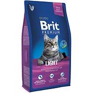 Brit Premium Cat Light 8 kg - Granule pro kočky