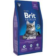 Brit Premium Cat Senior 8 kg - Granule pro kočky