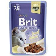 Brit Premium Cat Delicate Fillets in Jelly with Beef 85 g - Kapsička pro kočky