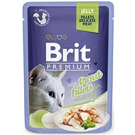 Brit Premium Cat Delicate Fillets in Jelly with Trout 85 g - Kapsička pro kočky