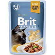 Brit Premium Cat Delicate Fillets in Gravy with Tuna 85 g - Kapsička pro kočky