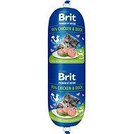 Brit Premium by Nature Sausage CAT Chicken & Duck 180 g  - Salám pro kočky