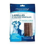 Francodex weggy žvýkací plátky L pes 490g 15ks - Pamlsky pro psy