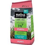 Nativia Puppy Lamb & Rice 3kg - Kibble for Puppies