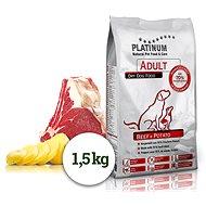 Platinum natural beef potatoes hovězí s bramborem 1,5 kg - Granule pro psy