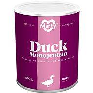 MARTY Monoprotein 100% maso - kachní 800 g - Konzerva pro psy