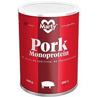MARTY Monoprotein 100% maso - vepřové 400 g - Konzerva pro psy