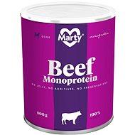 MARTY Monoprotein 100% maso - hovězí 800 g - Konzerva pro psy