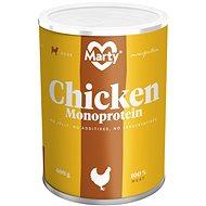 MARTY Monoprotein 100% maso - kuřecí 400 g - Konzerva pro psy