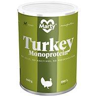 MARTY Monoprotein 100% maso - krůtí 400 g - Konzerva pro psy