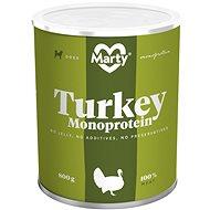 MARTY Monoprotein 100% maso - krůtí 800 g - Konzerva pro psy