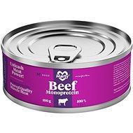 MARTY Monoprotein 100% maso - hovězí 100 g - Konzerva pro psy