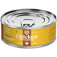 MARTY Monoprotein 100% maso - kuřecí 100 g - Konzerva pro psy
