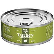 MARTY Monoprotein 100% maso - krůtí 100 g - Konzerva pro psy