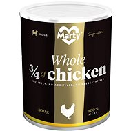 MARTY Signature 100% Meat - 3/4 chicken 800g - Canned Dog Food
