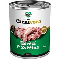 MARTY ProCarnivora for Cats beef + venison 400g - Cat food
