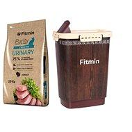 Fitmin cat Purity Urinary - 10 kg + Barel na krmivo 10 l zdarma - Sada krmiva