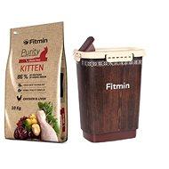 Fitmin cat Purity Kitten - 10 kg + Barel na krmivo 10 l zdarma - Sada krmiva