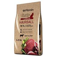 Fitmin cat Purity Hairball - 1,5 kg - Granule pro kočky