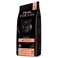 Fitmin cat For Life Salmon - 1,8 kg - Granule pro kočky