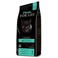 Fitmin cat For Life Castrate - 8 kg - Granule pro kočky