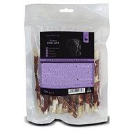 FFL dog treat duck with rawhide stick 200g - Pamlsky pro psy