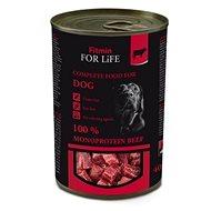 FFL dog tin beef 400 g - Konzerva pro psy