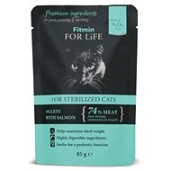 FFL cat pouch sterilized salmon 85g - Kapsička pro kočky