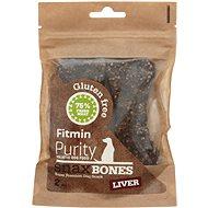 Fitmin dog Purity Snax BONES liver 2ks
