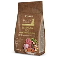 Fitmin dog Purity Rice Semimoist Rabbit&Lamb - 0,8 kg - Granule pro psy