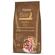Fitmin dog Purity Rice Puppy Lamb&Salmon - 2 kg - Granule pro psy