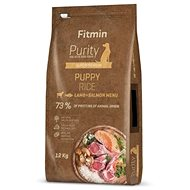 Fitmin dog Purity Rice Puppy Lamb&Salmon - 12 kg - Granule pro psy