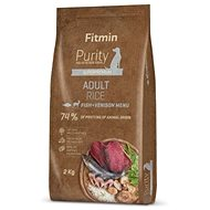Fitmin dog Purity Rice Adult Fish&Venison - 2 kg