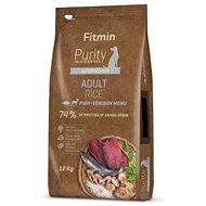 Fitmin dog Purity Rice Adult Fish&Venison - 12 kg - Granule pro psy