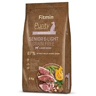 Fitmin dog Purity GF Senior&Light Lamb - 2 kg - Granule pro psy