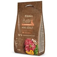 Fitmin dog Purity GF Adult Mini Beef - 4 kg