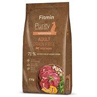 Fitmin dog Purity GF Adult Beef - 2 kg - Granule pro psy