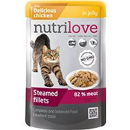 Nutrilove Steamed Fillets with Chicken in jelly 85g