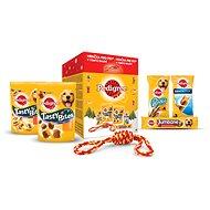 Pedigree vánoční balíček s hračkou 377g - Dárkový balíček pro psy