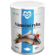 MARTY Christmas Fish - 100% Meat for Dogs and Cats 400g - Canned Dog Food