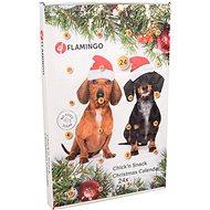 Flamingo Adventní kalendář s kuřecími pamlsky pro psy - Adventní kalendář pro psy