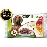 Vitalbite stewed fillets of chicken and beef in sauce 4× 85g - Dog pocket