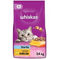 Whiskas granule Sterille s kuřecím 14kg - Granule pro kočky