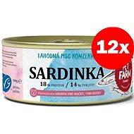 Pet Farm Family Sardinka 12 × 100 g