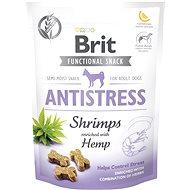 Pamlsky pro psy Brit Care Dog Functional Snack Antistress Shrimps 150 g