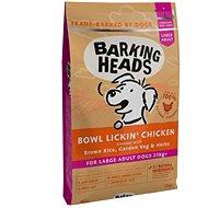 Barking Heads Bowl Lickin' Chicken (Large Breed) 12kg - Granule pro psy